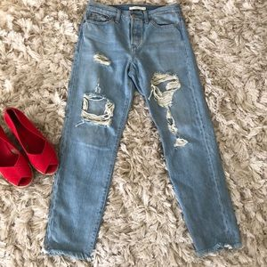Levi's button fly wedgie Jeans sz 26